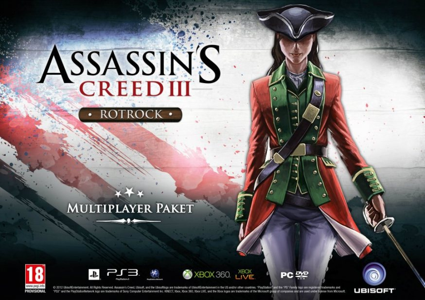 assassinscreed3 dlc exclusif preco 1 Assassin's Creed 3 : Des bonus de précommande en Allemagne  precommande Assassin's Creed 3