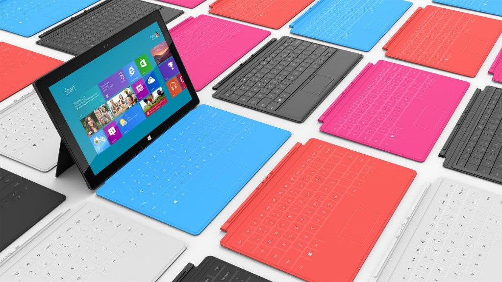 Surface : la tablette Windows 8 Microsoft