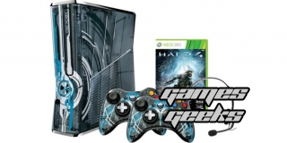 Une xbox aux couleurs de Halo 4