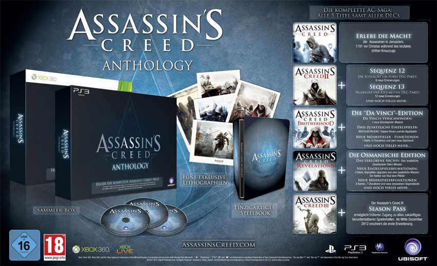 Assassin Creed Anthology 2 Assassins Creed Anthology  assassin creed anthology
