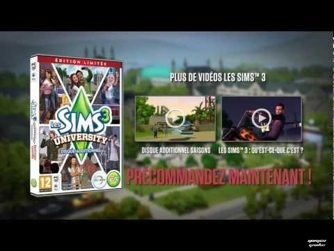 Les Sims 3 University et Les Sims 3 Île de Rêve