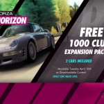Forza Horizon un nouveau pack gratuit