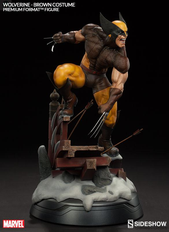 Classroom Game Design Paul Andersen At Tedxbozeman : Sideshow figurine wolverine cm
