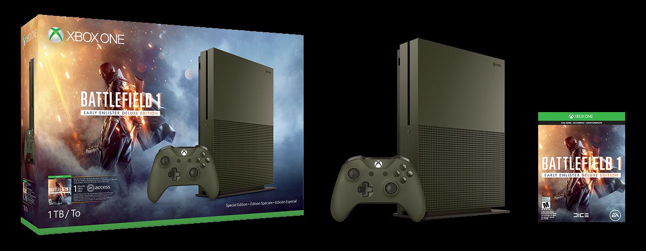 Xbox couleurs BattleField