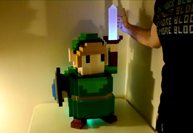 boitier-pc_link Geek: Un boitier d'ordi en forme de Zelda (Link)