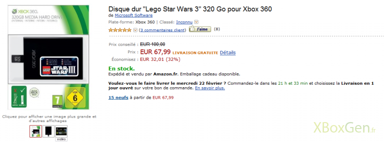 disque-dur-320-promo Amazon: Bons plans (xbox)