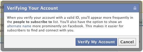 photo-facebook-authentification Facebook: Comptes vérifiés en place