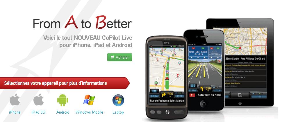 screenshot.563 CoPilot GPS : GPS d'ALK Technologies