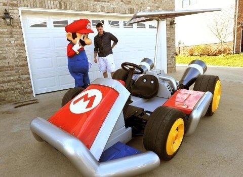 02-Mario-Kart-d Geek: Le kart de mario en vrai