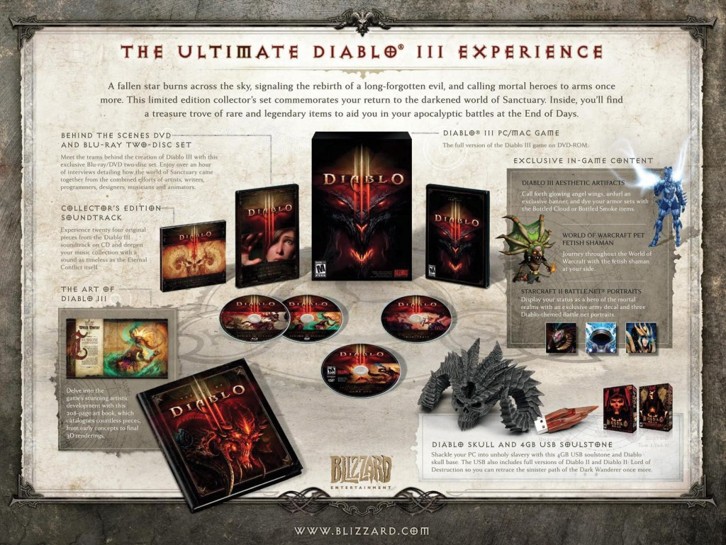 2401397566 Diablo III : L'édition Collector