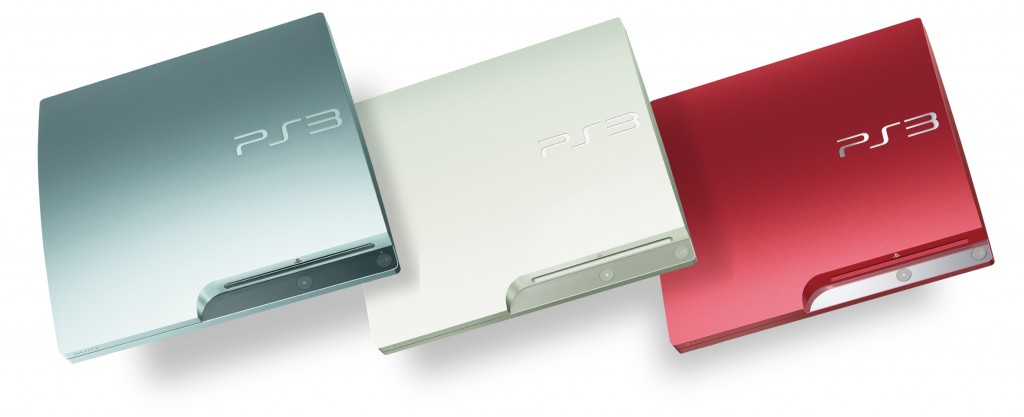 ps3_silverwhitered PS3: 3 nouveaux coloris