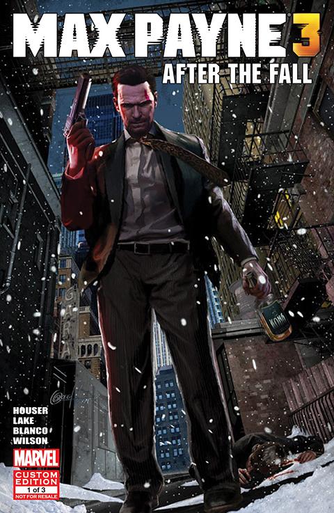 Max-Payne-3-Comic-Book-Cover Max Payne 3 : Le premier comic book dispo gratuitement !