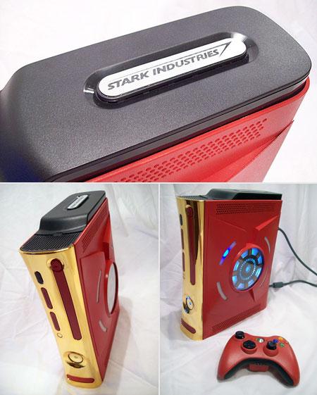 iron_man_xbox_360 Une xbox aux couleurs d'Iron Man