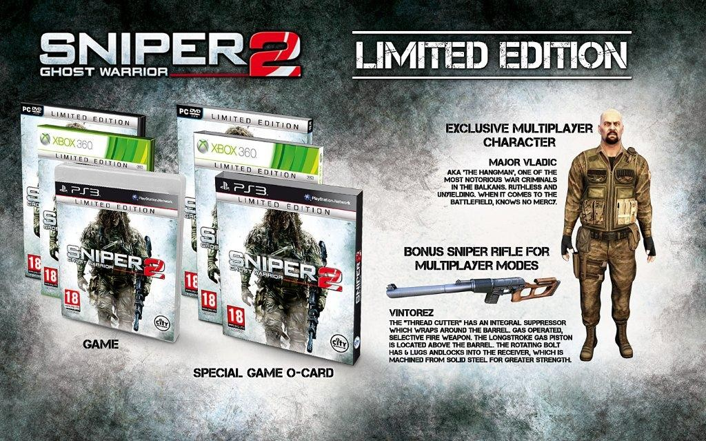 sniper-ghost-warrior-2-limited-edition Sniper Ghost Warrior 2 : les collectors