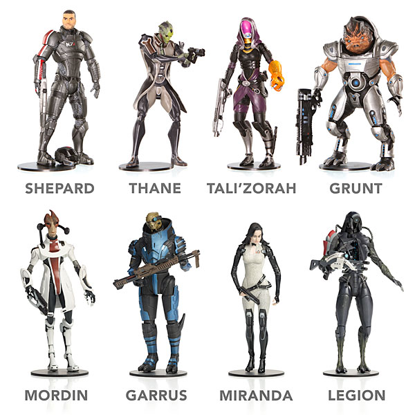 Mass-Effect-Figures1 [Goodies] Mass Effect : De nouvelles figurines