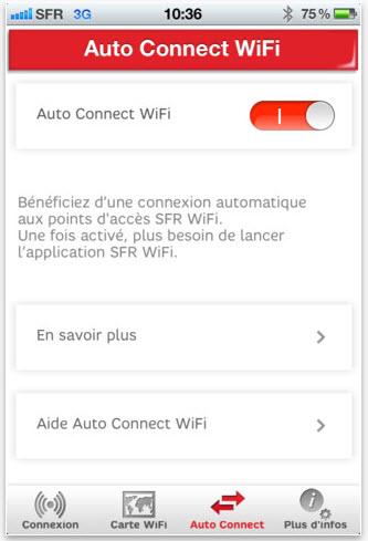 autoconnectwifi-sfr SFR Wifi: Nouvelle version avec auto connect