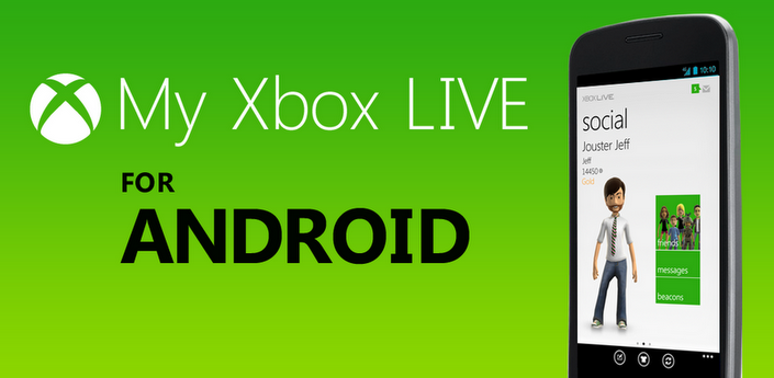 xbox My Xbox LIVE – Application officielle disponible