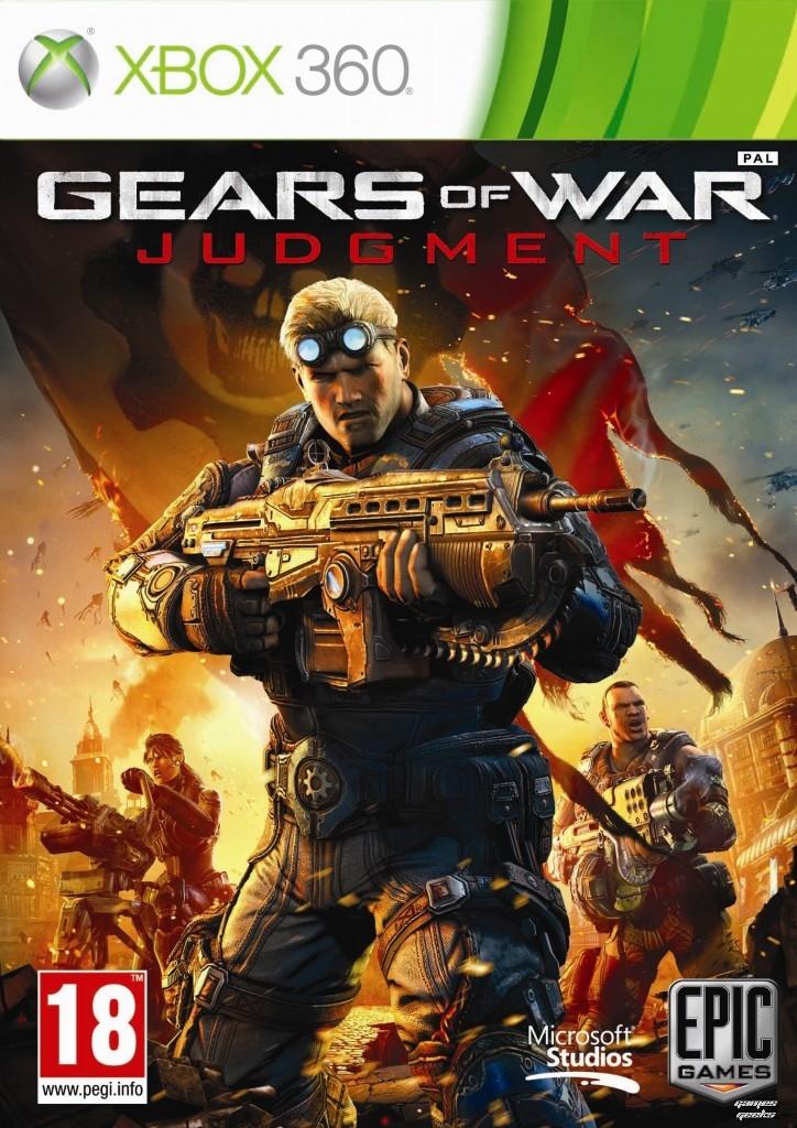 gow_judgment Gears of War Judgment : La cover dévoilée