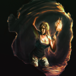 lara___in_a_cave_by_sicosa-d506bmv-150x150 FanArt Tomb Raider