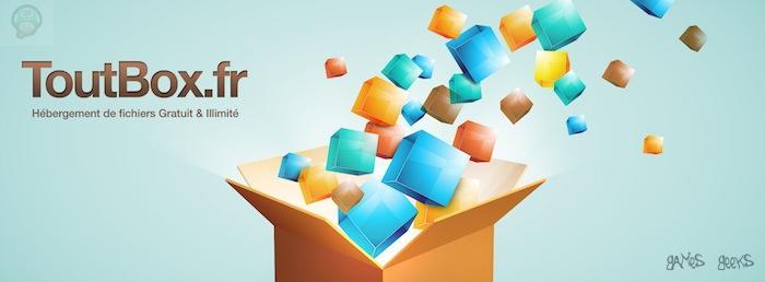 bantoutbox Toutbox.fr: Hébergement de fichiers Gratuit et Illimité