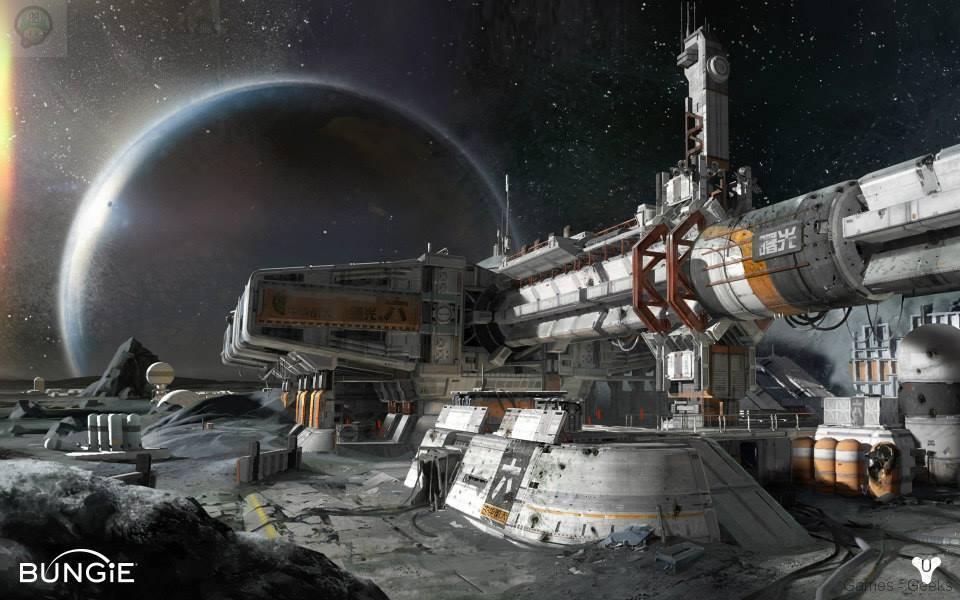 destiny-moon_4_ Destiny se montre avec 6 nouveaux artworks