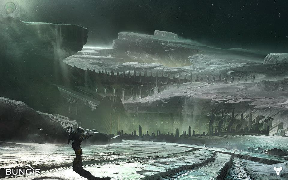 destiny-moon_6_ Destiny se montre avec 6 nouveaux artworks