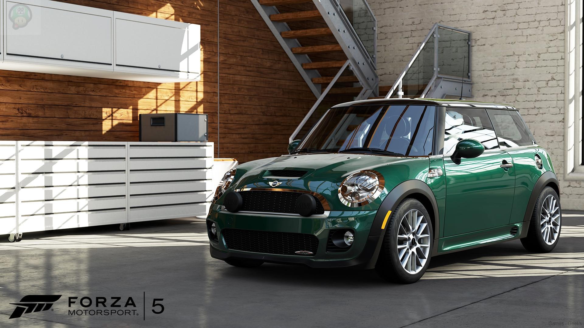 forza5-carreveal-mini-johncooperworks-wm-nnkkjj Forza 5 : 4 nouvelles voitures dévoilées