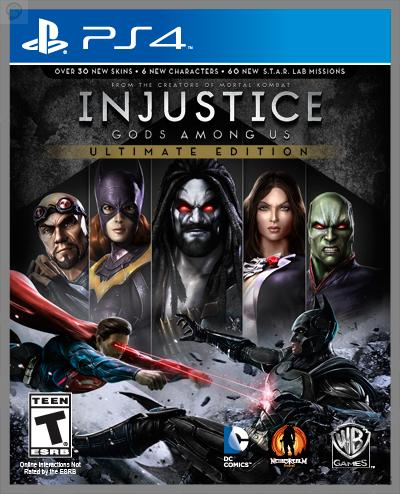 injustice-ultimate-edition-ps4 Injustice : une Ultimate Edition