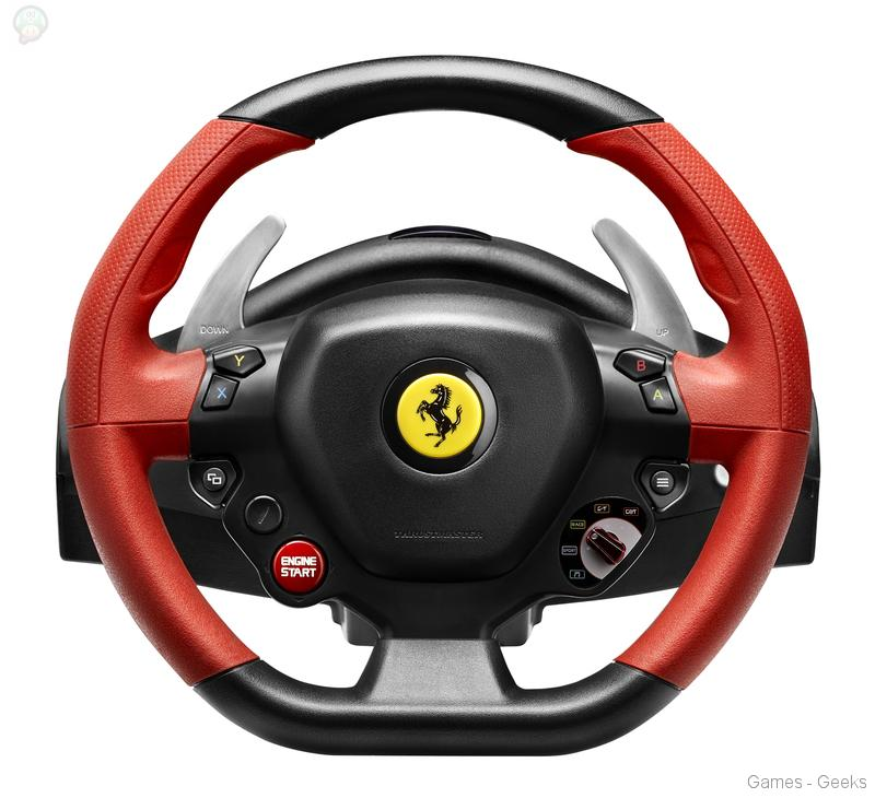 thrustmaster annonce le ferrari 458 spider racing wheel. Black Bedroom Furniture Sets. Home Design Ideas