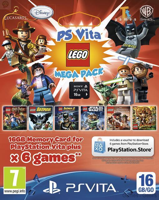 bundle-lego Un nouveau bundle pour la PS Vita (avec 6 jeux lego)