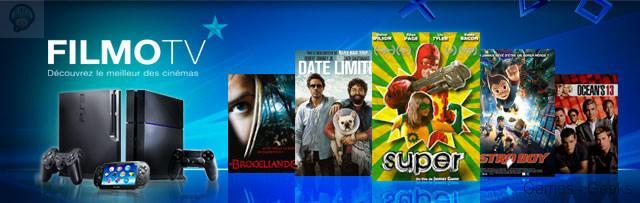 filmotv-ps4 FilmoTV disponible sur PS3 et PS4