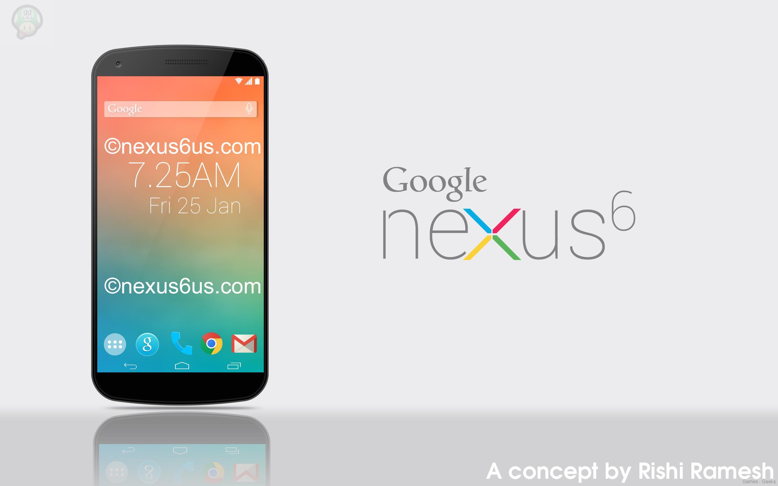 Nexus-6-Concept1 Rumeurs sur le google Nexus 6
