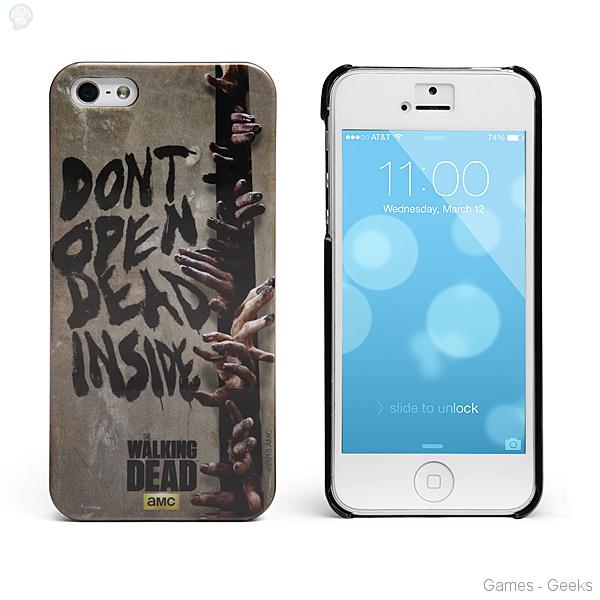 coque iphone 5 walking dead