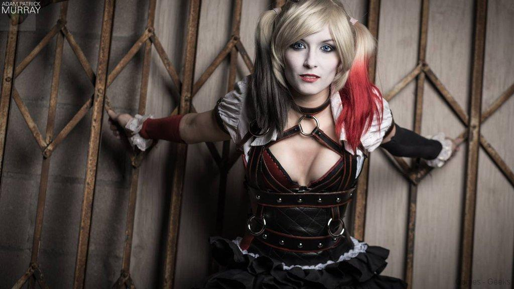 arkham_knight_harley_quinn_close_up_by_maisedesigns-d7csc21 Cosplay - Harley Quinn - Steampunk #13