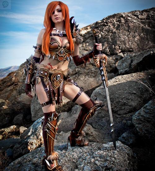 Cosplay-Barbarian-Diablo-3-par-Andy-Rae-4 Cosplay  - Diablo 3  #30