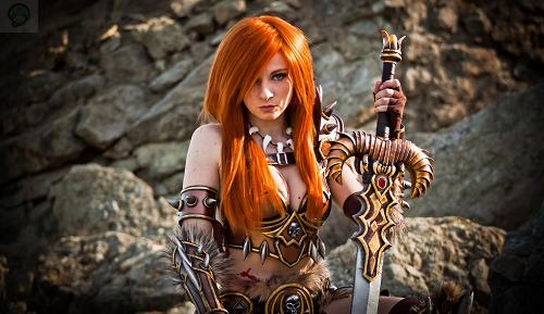 Cosplay-Barbarian-Diablo-3-par-Andy-Rae Cosplay  - Diablo 3  #30
