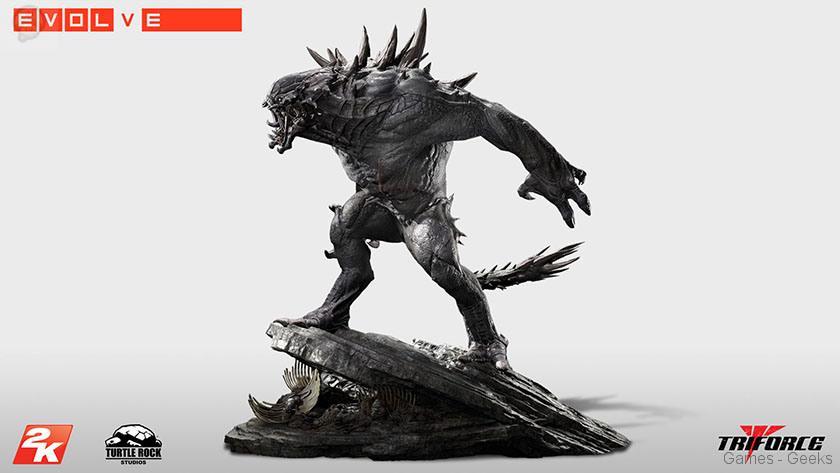 Evolve-Goliath-Monstre-TriForce-statuette-01 Figurine : Découvrez Goliath d'Evolve