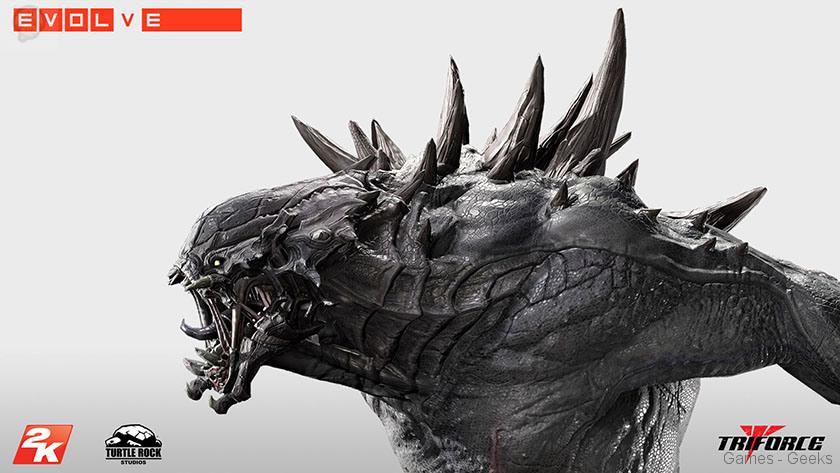 Evolve-Goliath-Monstre-TriForce-statuette-04 Figurine : Découvrez Goliath d'Evolve