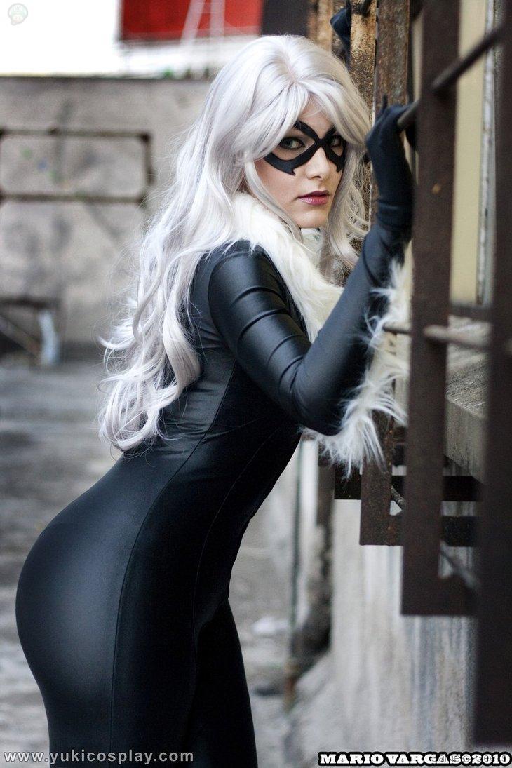 Black_Cat___Spiderman_by_Yukilefay Cosplay - Black Cat #43