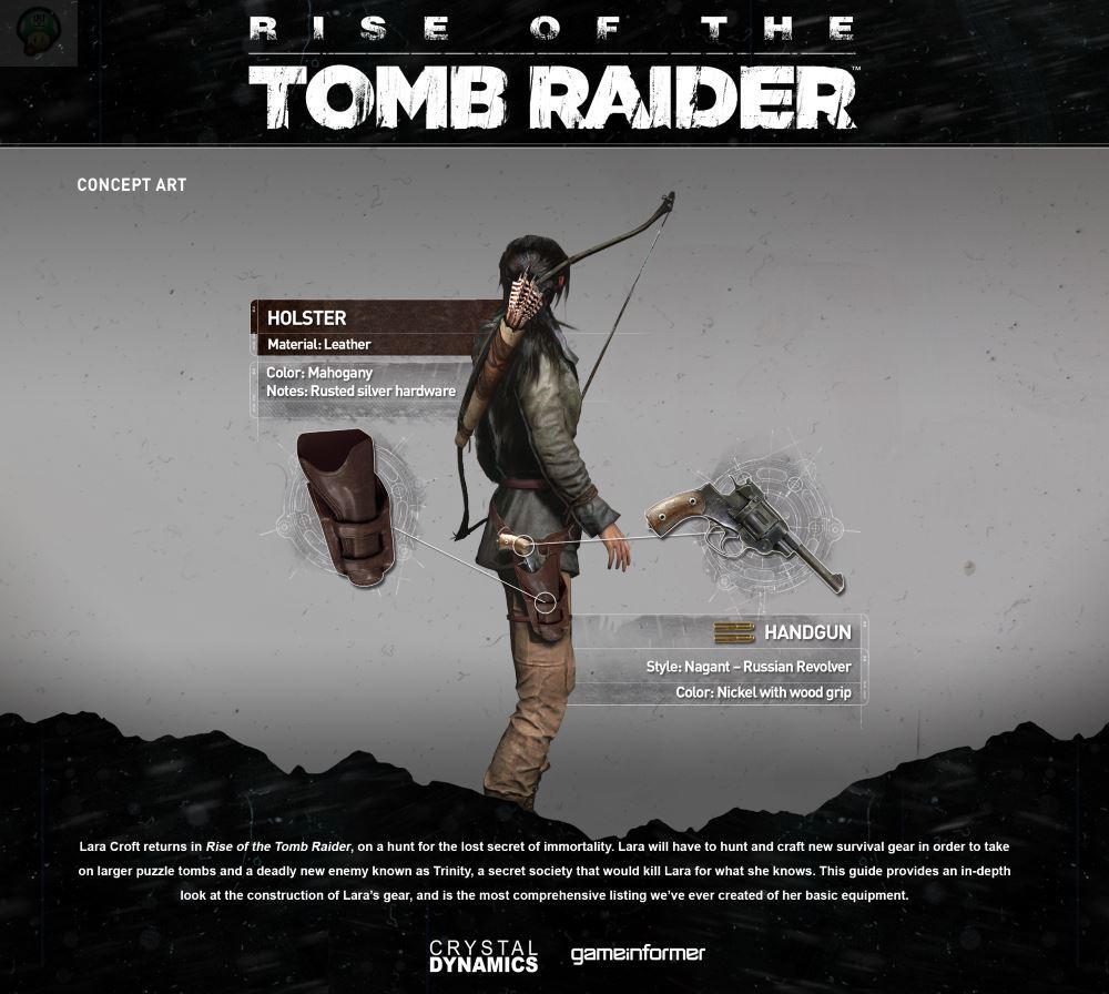 rise-of-the-tomb-raider-equip2 Rise of the Tomb Raider : Découvrez l'équipement de Lara en images