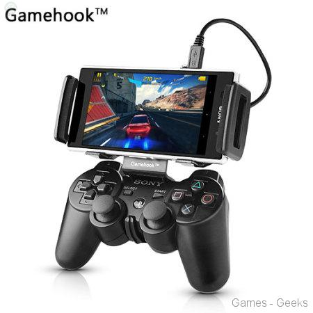 45196 Test - Gamehook pour DualShock 3 / Android