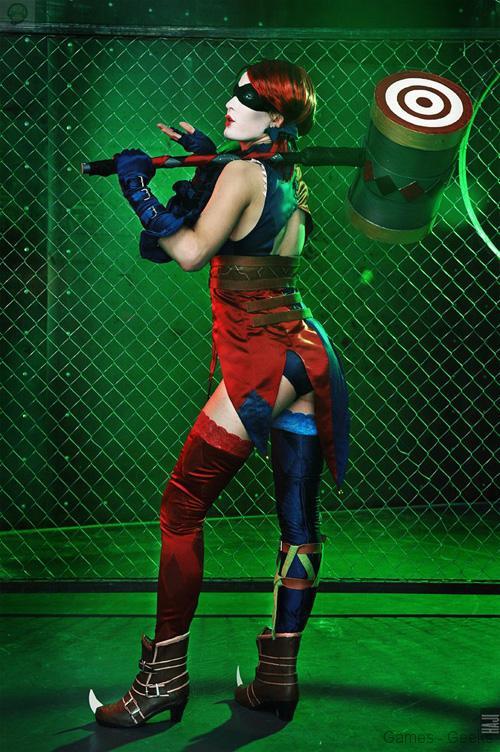 injustice_harley_quinn_cosplay_04 Cosplay - Injustice: Gods Among Us - Harley Quinn #69