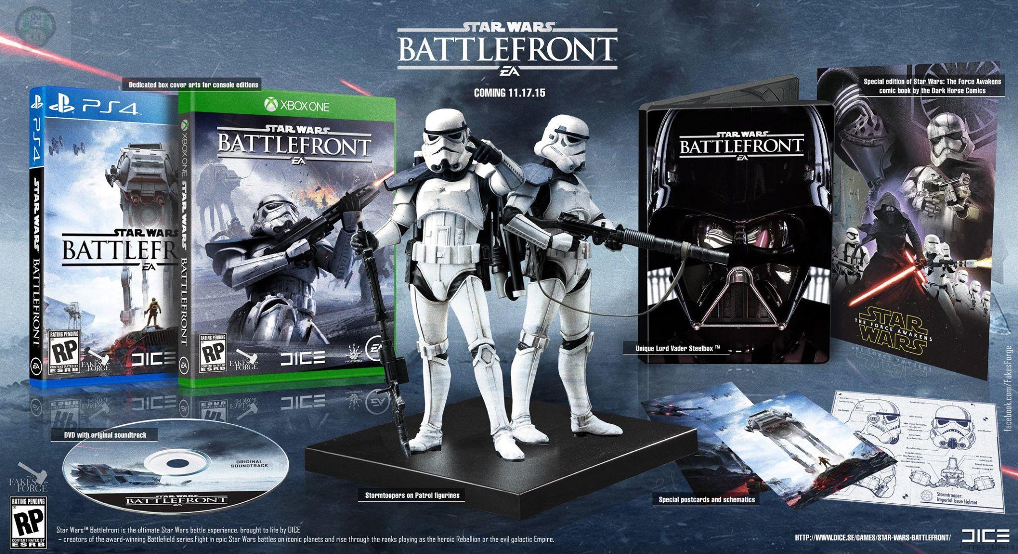 Insolite Star Wars Battlefront Les Collectors R 234 V 233 S