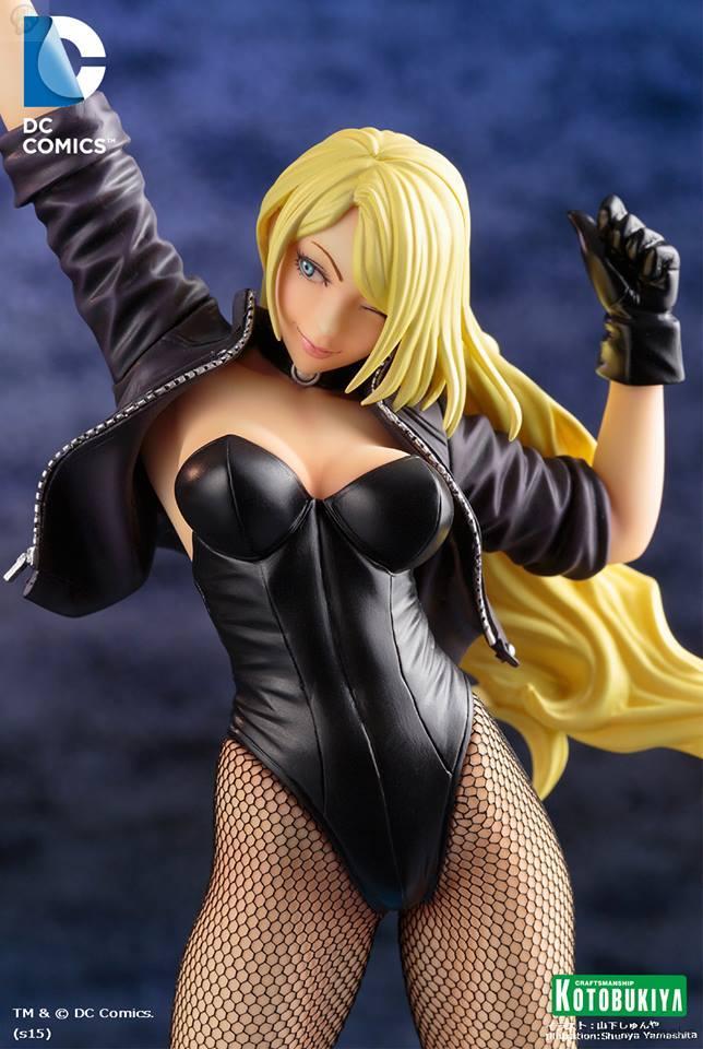 koto-bishoujo-blackcanary06 Figurine - Black Canary - Bishoujo