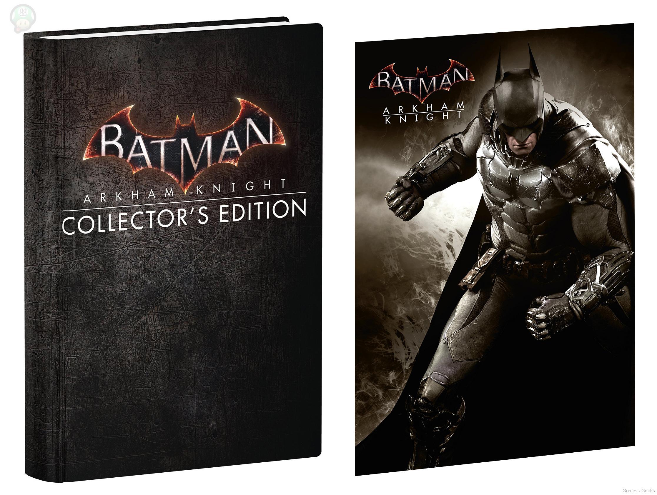 batmanarkhamknghtguide [préco] Un peu de lecture pour Batman Arkham Knight