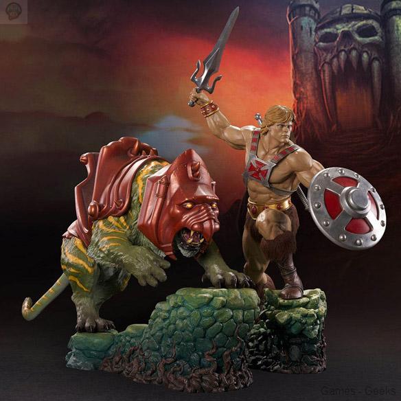He-Man-and-BattleCat-Statues Sélection de Figurines