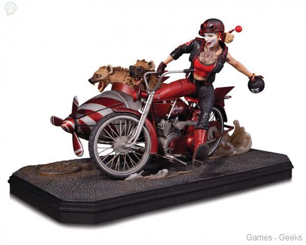 DC-Comics-Gotham-City-Garage-Harley-Quinn-Deluxe-Edition-Statue DC Comics Gotham City Garage Harley Quinn Deluxe Edition Statue