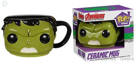 Hulk Geek : Les mugs et salières Funko Avengers
