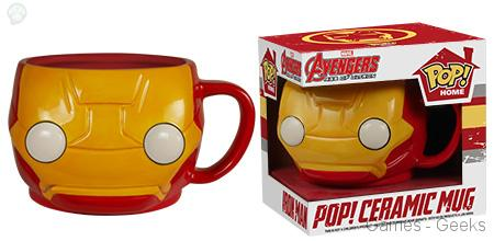 Iron-Man Geek : Les mugs et salières Funko Avengers