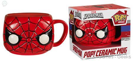 spideman Geek : Les mugs et salières Funko Avengers